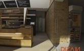 ločen prostor v pekarni