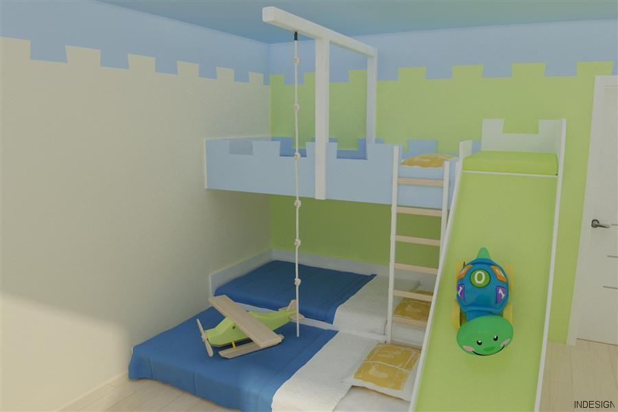 Razigrana otroška soba  iNDiZAJN
