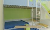 Razigrana otroška soba