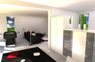 Sodobno stanovanje z veliko svetlobe
