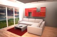 Notranja oprema malega stanovanja