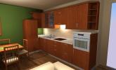 Kuhinja, jedilnica in dnevna soba Kancilija
