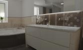 kopalnica v zemeljskih tonih