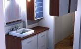 Spalnica in kopalnica Lavrica