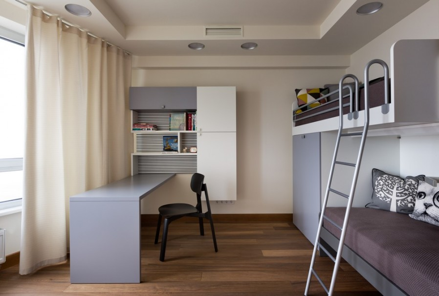 Moderno stanovanje indizajn for Como decorar un departamento moderno