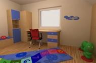 Otroška soba med oblaki