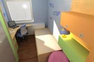 Barve v otroški sobi