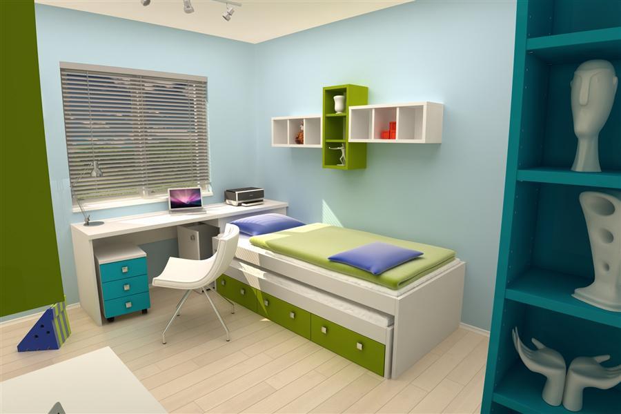 Opremljanje mladinske sobe  iNDiZAJN