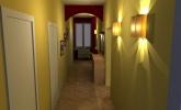 Izris hodnika za družino Kermelj