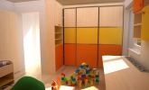 Živahne barve v otroški