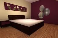 Izris mansardne spalnice