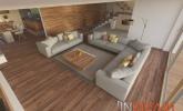 Moderna, prostorna dnevna soba