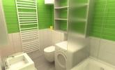 Mini kopalnica v zeleni